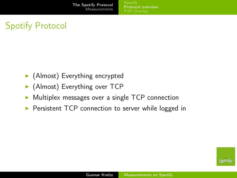 TCP Multiplex messages over a single TCP connection