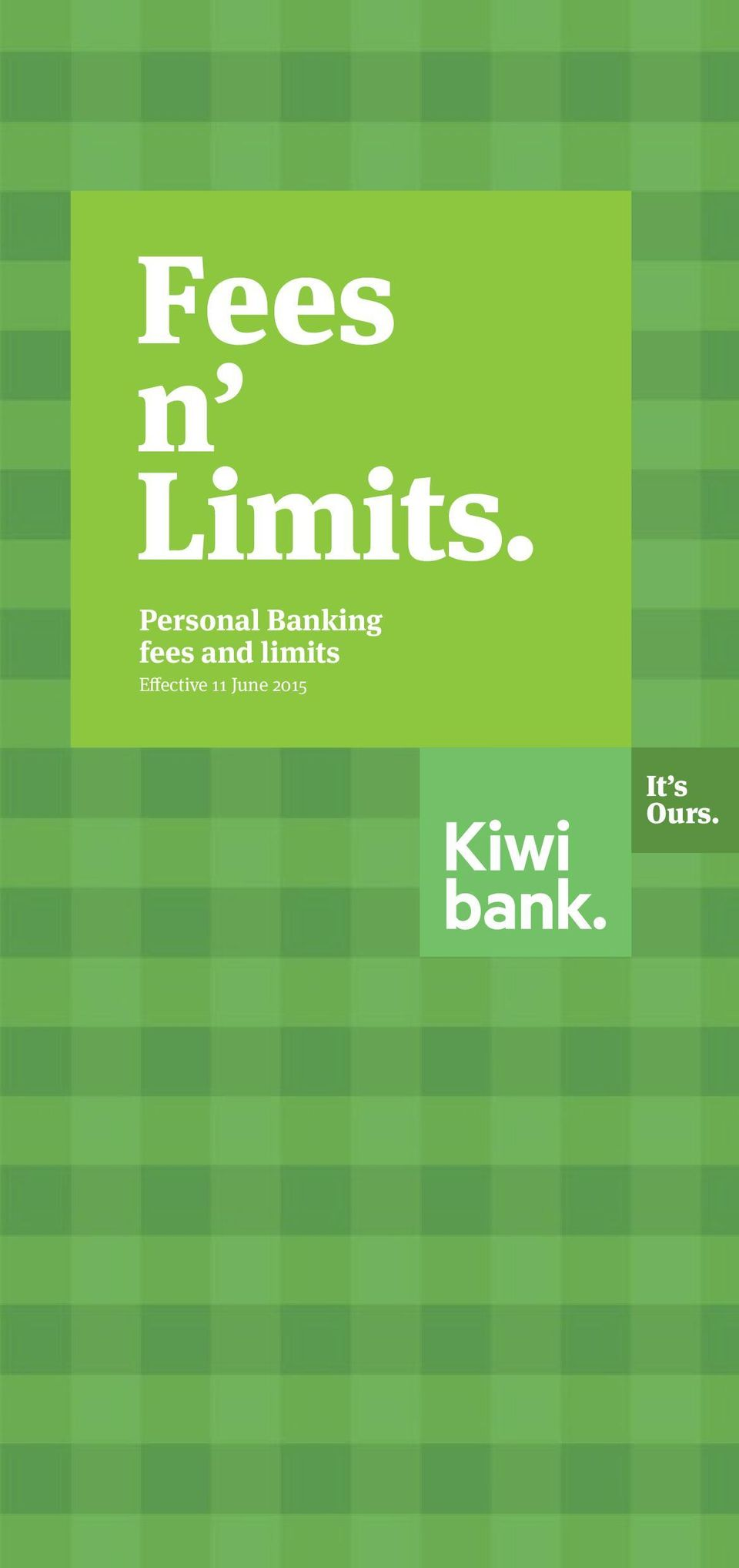fees and limits