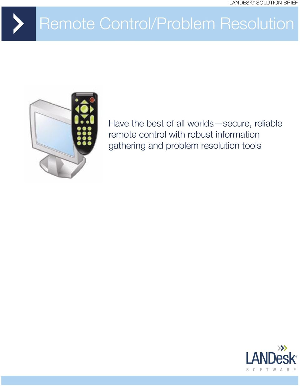 reliable remote control with robust