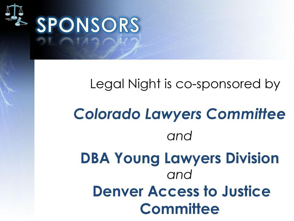 DBA Young Lawyers Division and
