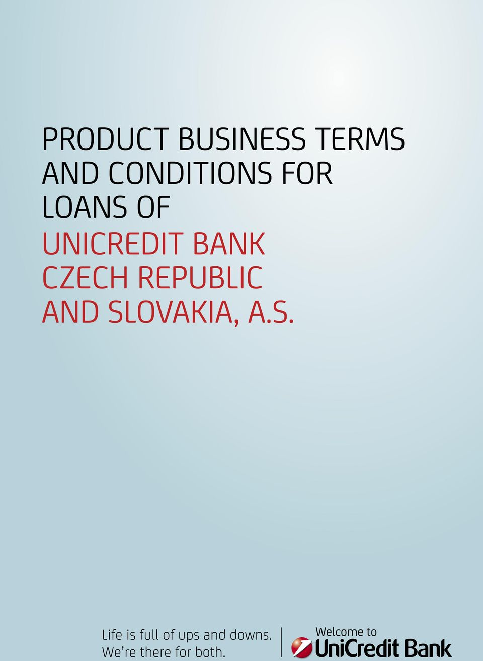 OF UNICREDIT BANK CZECH