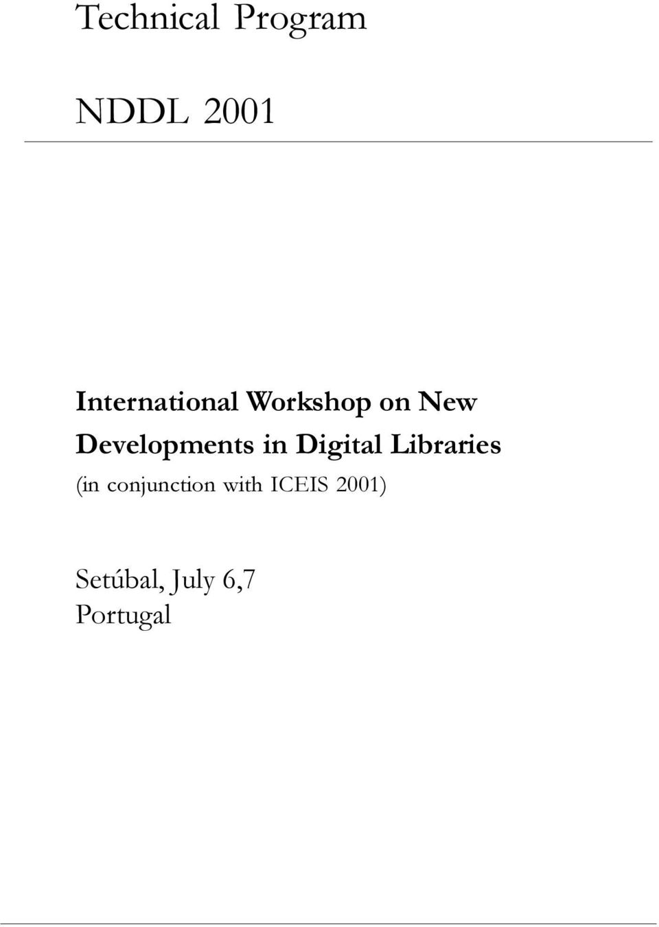 Developments in Digital Libraries (in