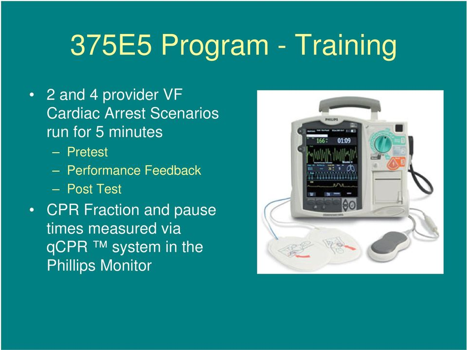 Performance Feedback Post Test CPR Fraction and