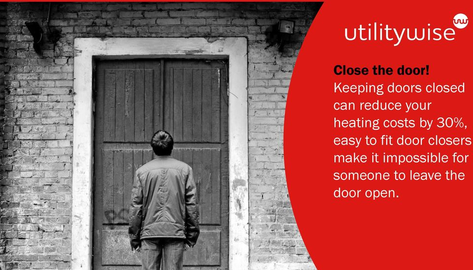 heating costs by 30%, easy to fit door