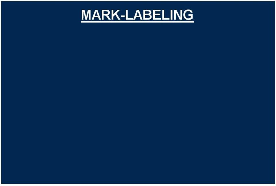 MARK-LABELING Compare computer mark to reference standard mark using an automated rule Overlap of computer and reference standard