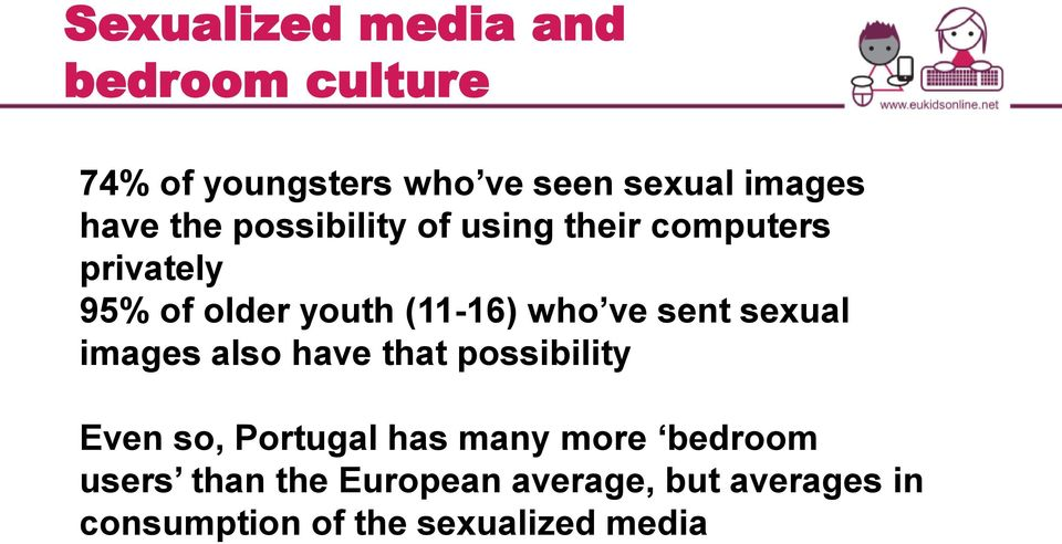 sent sexual images also have that possibility Even so, Portugal has many more bedroom