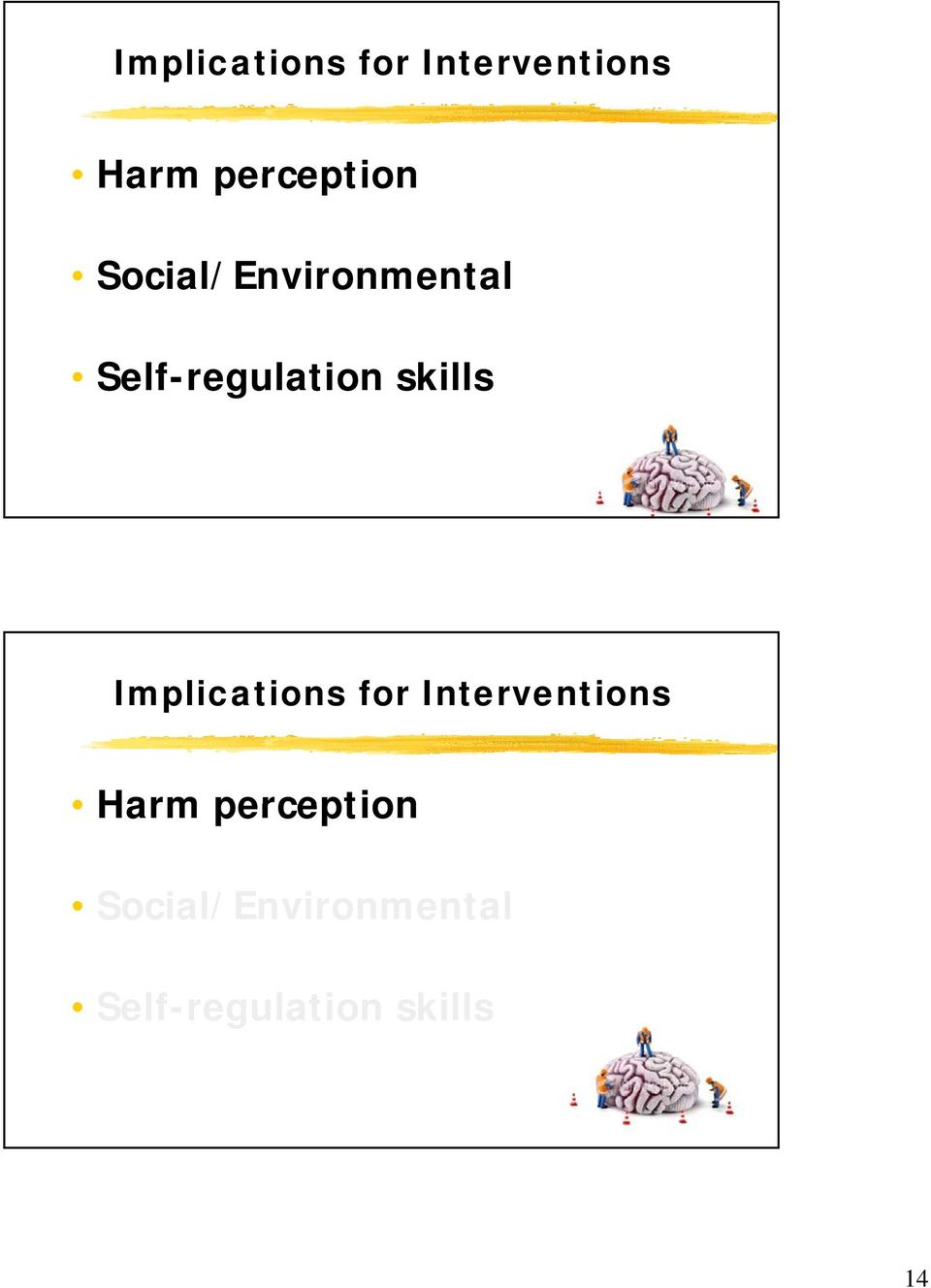 Self-regulation skills   Self-regulation