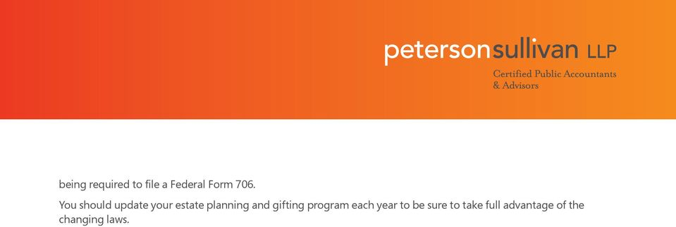 and gifting program each year to be sure