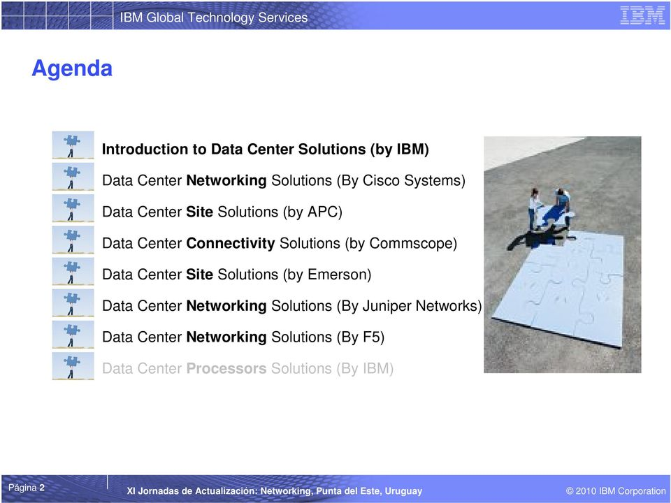 Commscope) Data Center Site Solutions (by Emerson) Data Center Networking Solutions (By