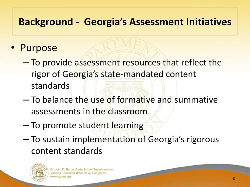 balance the use of formative and summative assessments in the classroom To