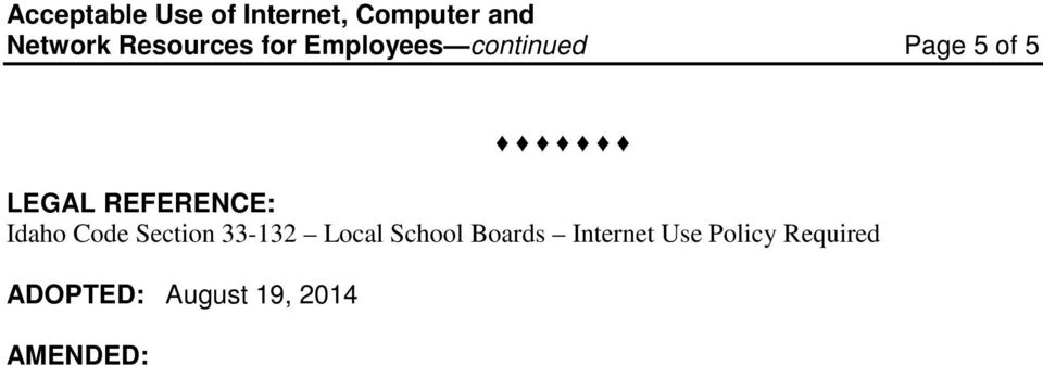 Section 33-132 Local School Boards Internet