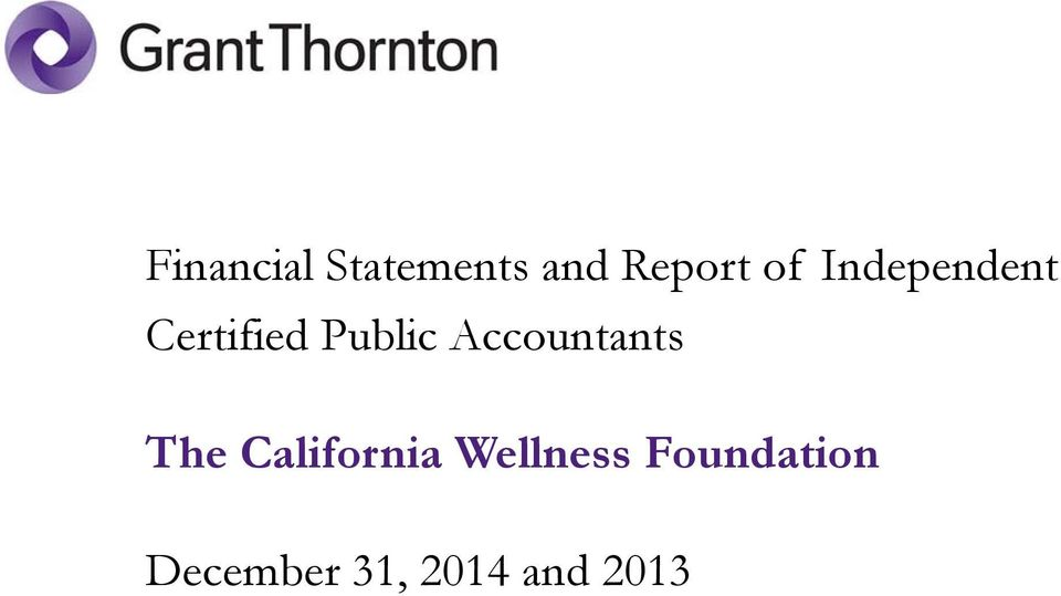 Accountants The California