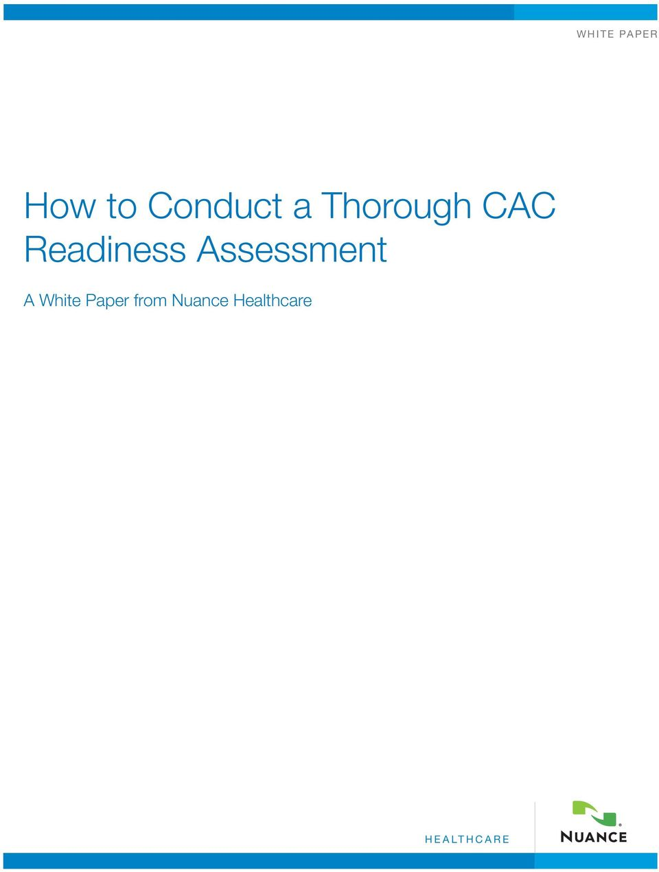 Assessment A White Paper