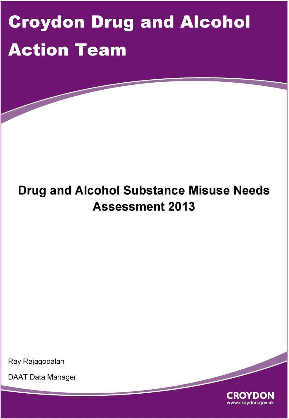 Misuse Needs Assessment 2013