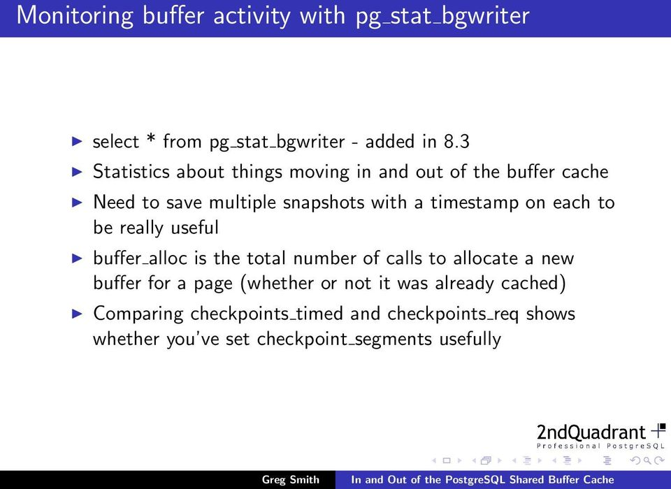 on each to be really useful buffer alloc is the total number of calls to allocate a new buffer for a page