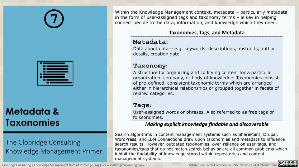 Taxonomy: A structure for organizing and codifying content for a particular organization, company, or body of knowledge.