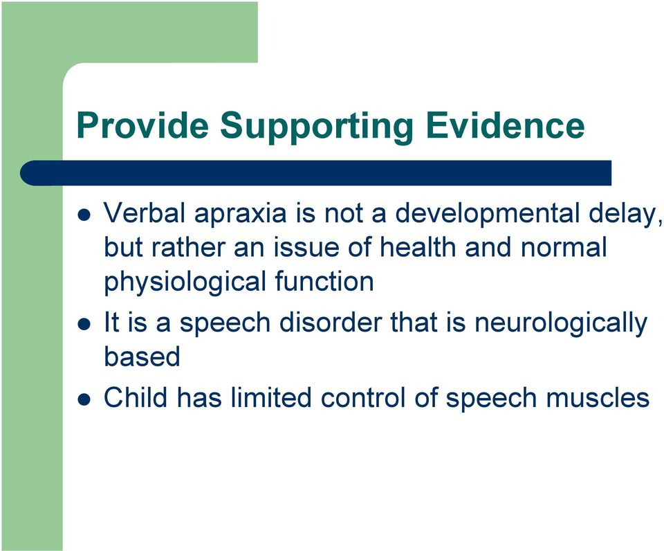 normal physiological function It is a speech disorder that