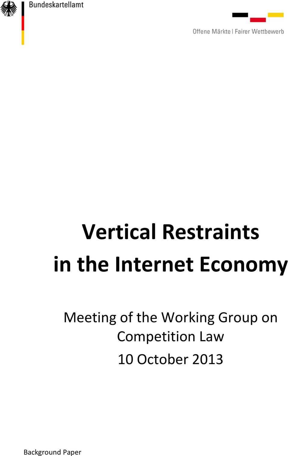 efficiency rationales for vertical restraints economics essay Add paper to my library  the economic rationale of exhaustion: distribution  and post-sale restraints  just as antitrust law has recognized the efficiency of  post-sale restraints and relaxed  it shows that the main benefits of post-sale  restraints involve situations of imperfect vertical integration between.