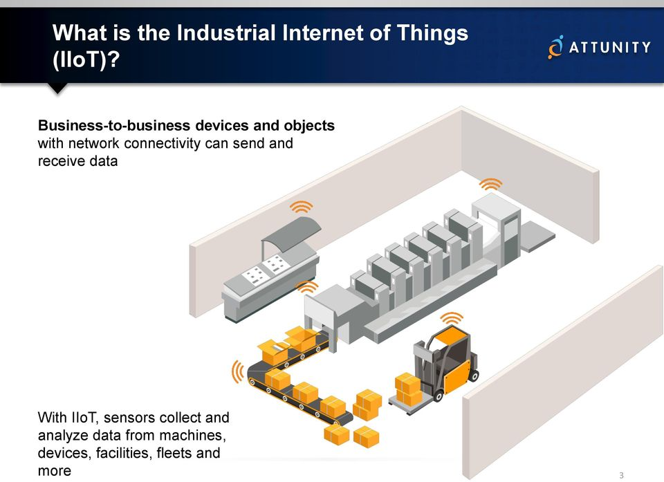 connectivity can send and receive data With IIoT, sensors