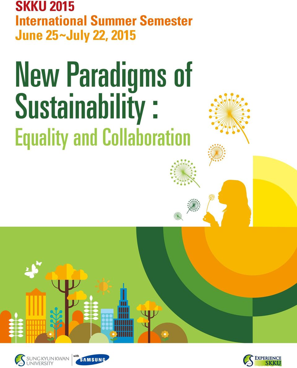 New Paradigms of Sustainability :