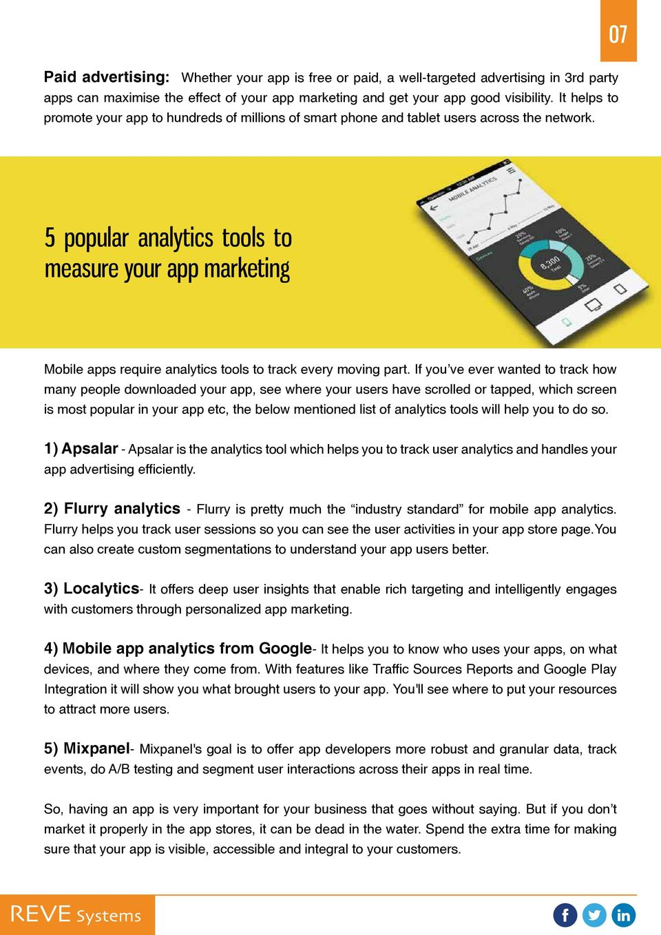 5 popular analytics tools to measure your app marketing Mobile apps require analytics tools to track every moving part.