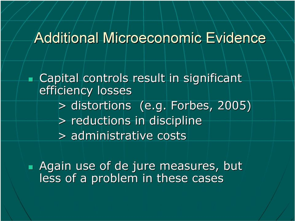 2005) > reductions in discipline > administrative costs