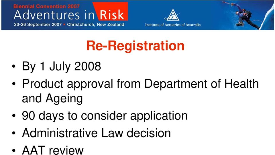 Ageing 90 days to consider application