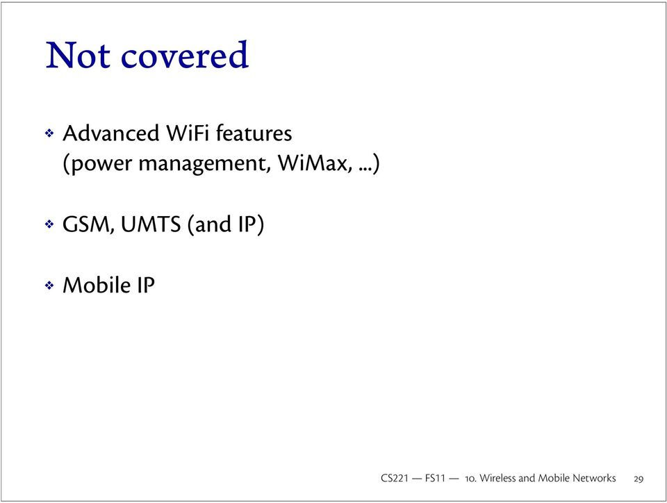 management, WiMax,.