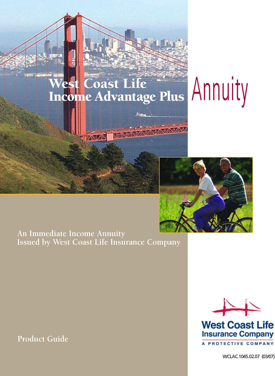 Annuity Issued by West Coast Life