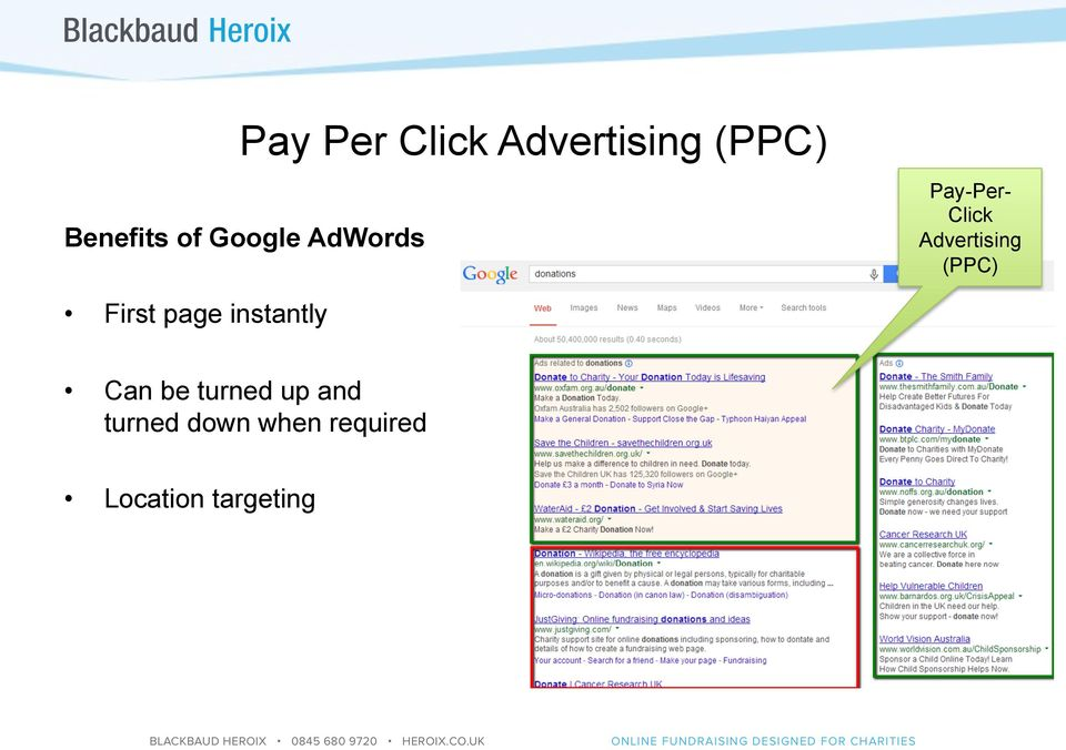 (PPC) First page instantly Can be turned up