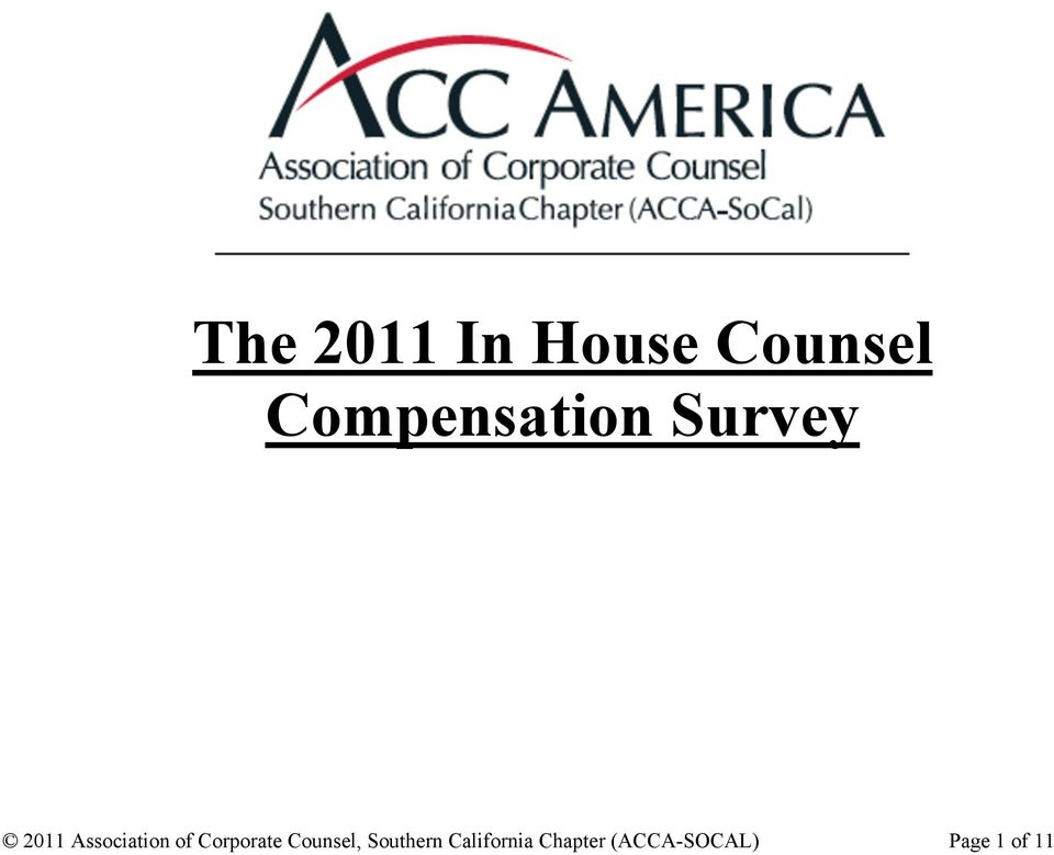 Association of Corporate Counsel,