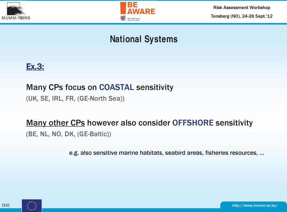 (GE-North Sea)) Many other CPs however also consider OFFSHORE