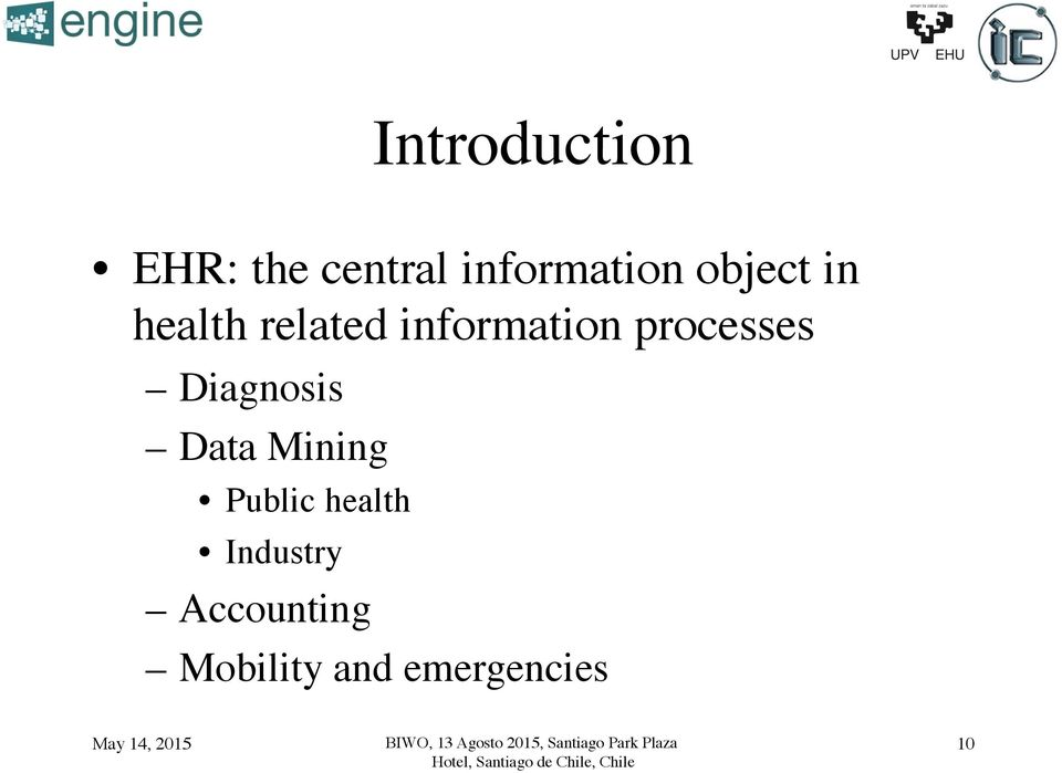 related information processes! Diagnosis!