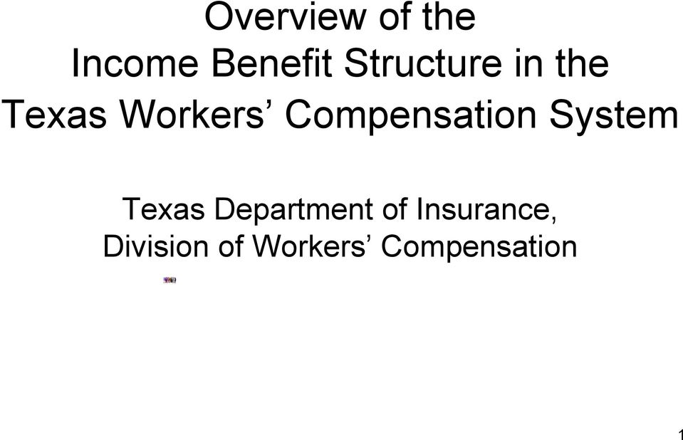 Compensation System Texas Department