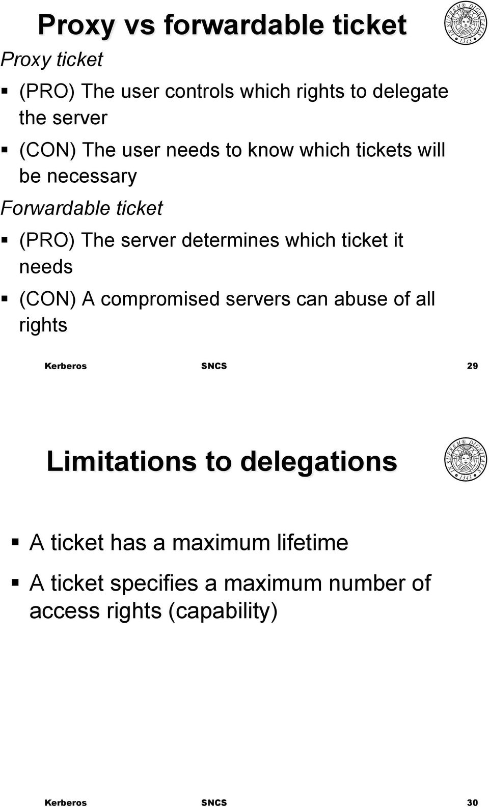 (PRO) The server determines which ticket it needs!