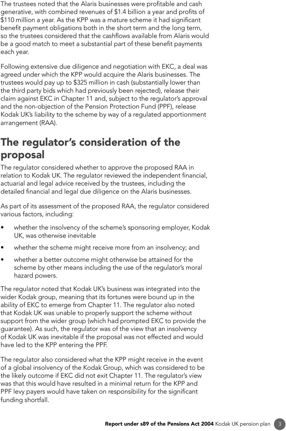 Report under s89 of the Pensions Act PDF