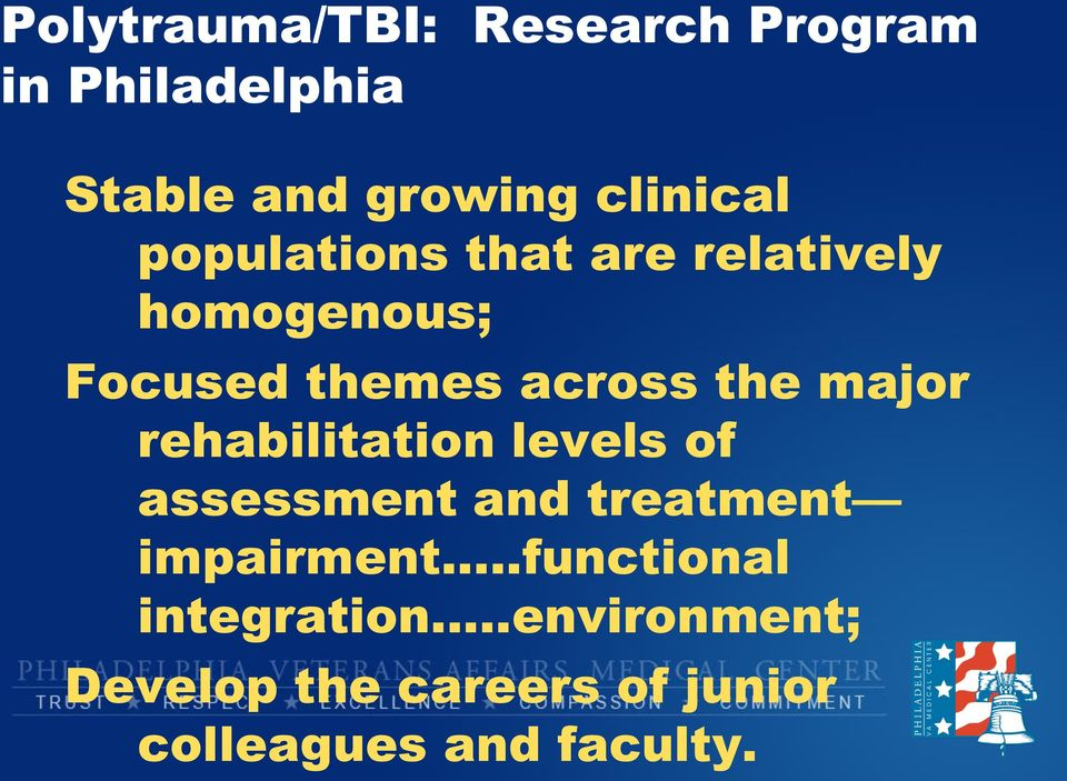 rehabilitation levels of assessment and treatment impairment.