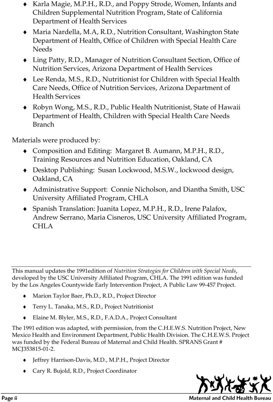 Nutrition Strategies for Children with Special Needs - PDF