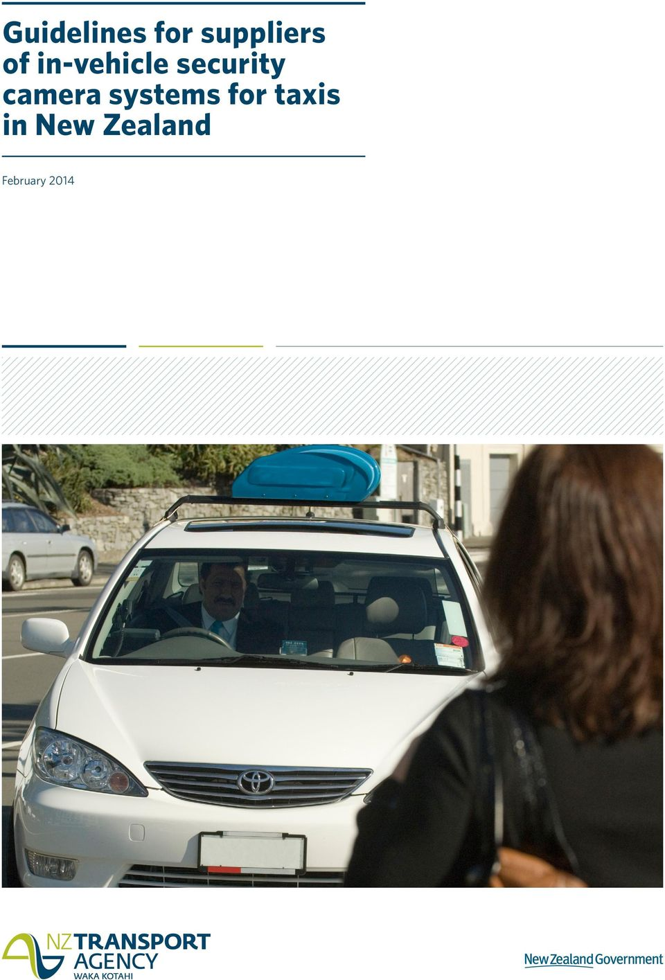camera systems for taxis