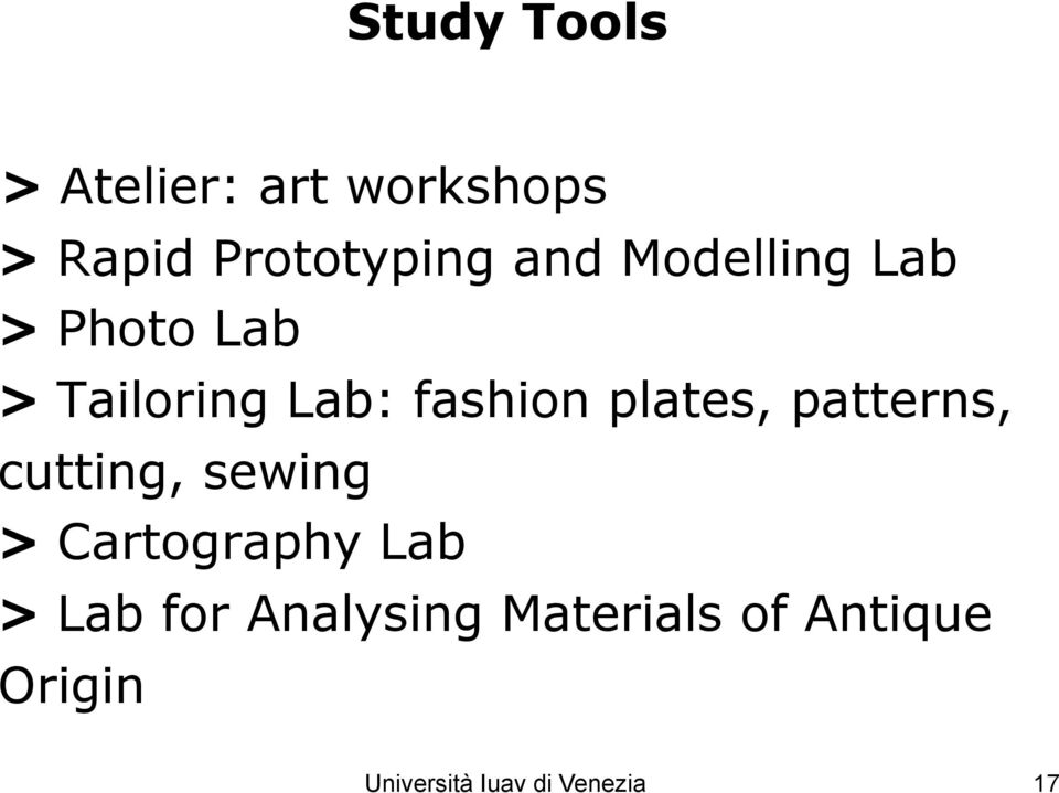 patterns, cutting, sewing > Cartography Lab > Lab for