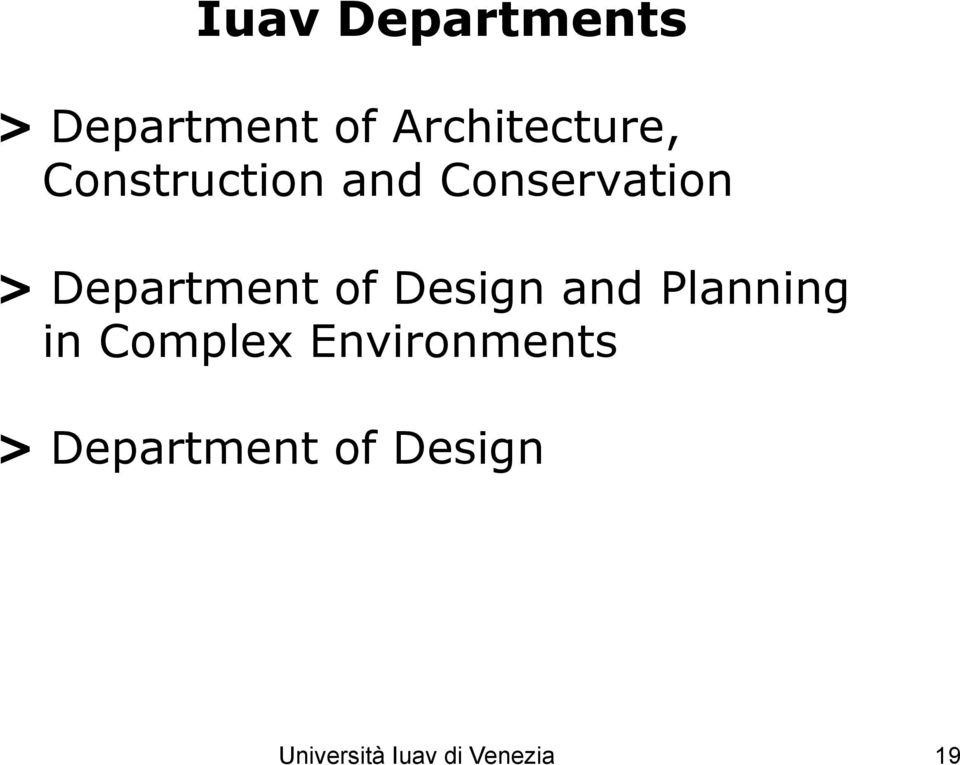 Design and Planning in Complex Environments >