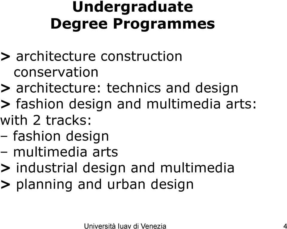 multimedia arts: with 2 tracks: fashion design multimedia arts >