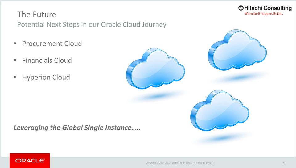 Cloud Financials Cloud Hyperion Cloud