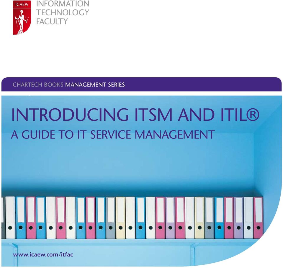 ITIL A Guide to IT Service