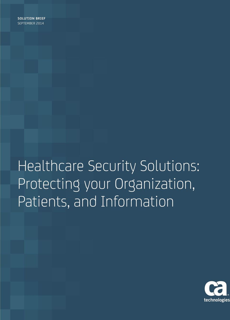 Solutions: Protecting your
