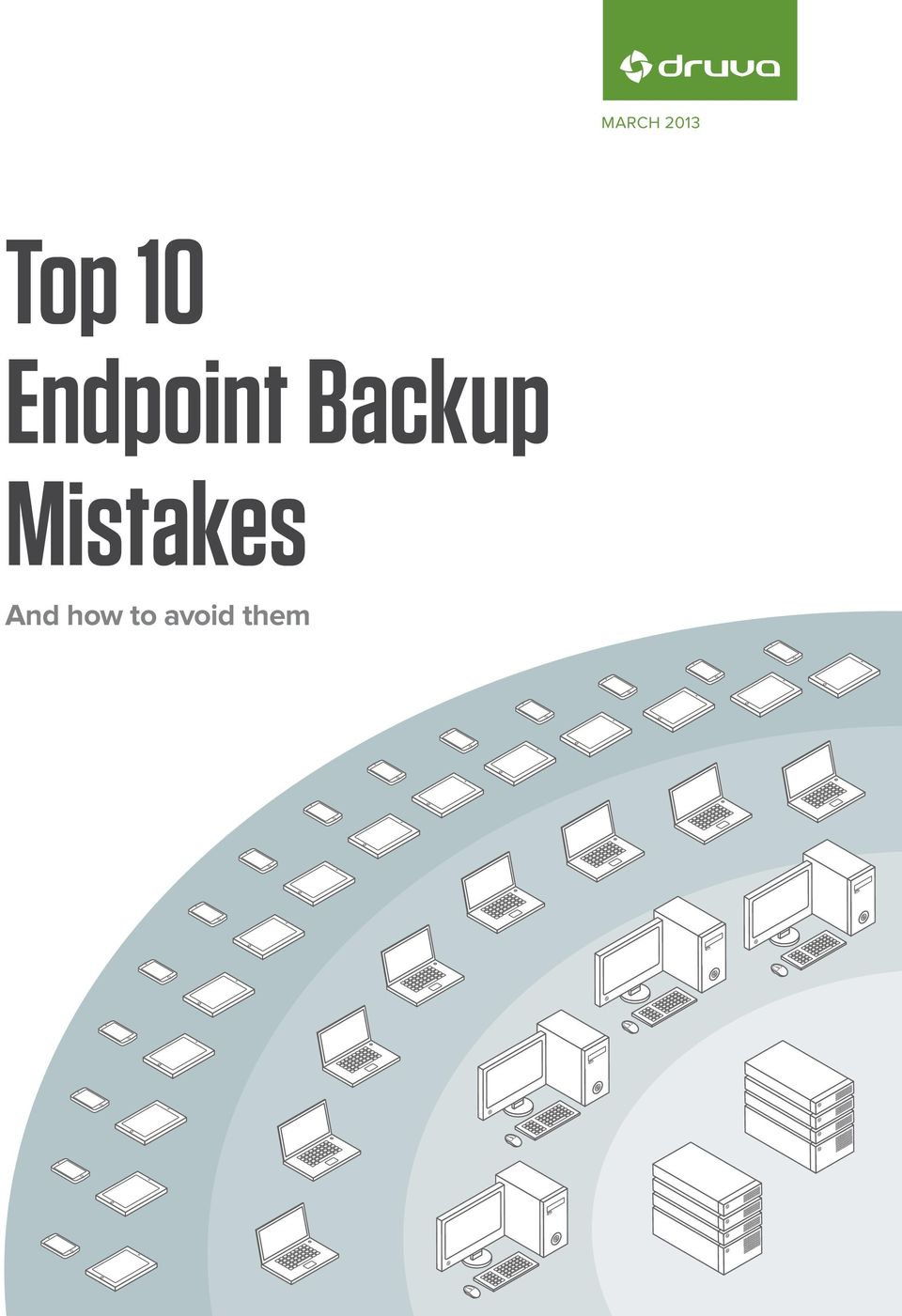 Backup Mistakes