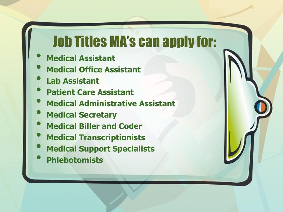 Administrative Assistant Medical Secretary Medical Biller and