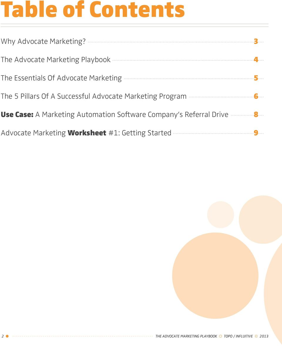 Of A Successful Advocate Marketing Program 6 Use Case: A Marketing Automation Software