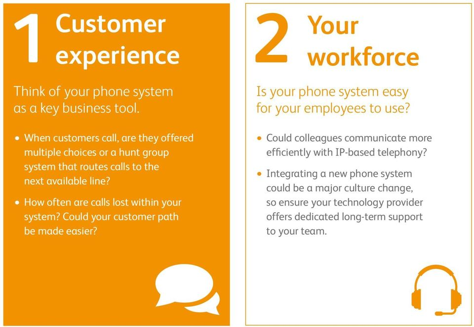 How often are calls lost within your system? Could your customer path be made easier?
