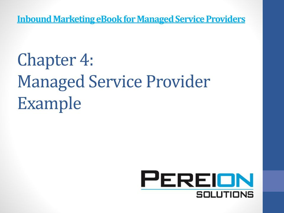 Providers Chapter 4: